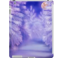 White winter forest iPad Case/Skin