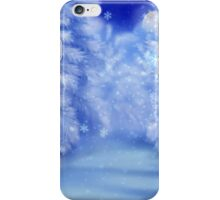 White winter forest 2 iPhone Case/Skin