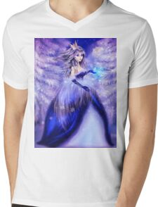Winter princess Mens V-Neck T-Shirt