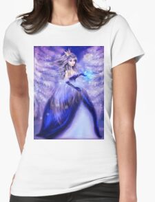 Winter princess Womens Fitted T-Shirt
