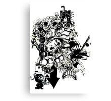 PaperCutOut Canvas Print