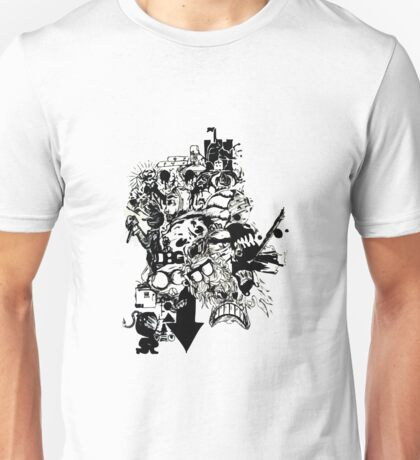 PaperCutOut Unisex T-Shirt