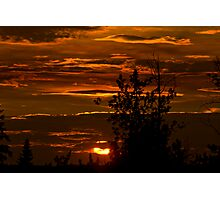 July Sunset Photographic Print