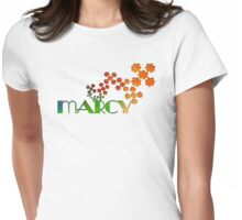 The Name Game - Marcy Womens Fitted T-Shirt