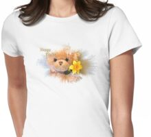 Happy Easter Greetings  Womens Fitted T-Shirt
