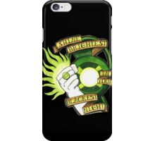Green Lantern Tattoo Flash iPhone Case/Skin