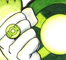Green Lantern Tattoo Flash Sticker