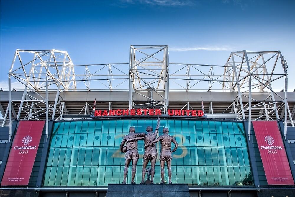 The United Trinity, Old Trafford by RED DAVID