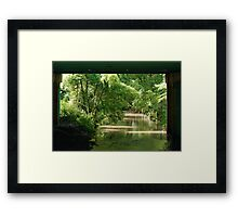 More than trolls under the bridge Framed Print