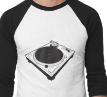 Cool Turntable - Recordplayer Men's Baseball ¾ T-Shirt