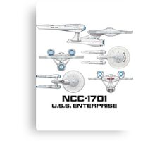 NCC-1701 U.S.S. Enterprise Canvas Print