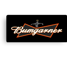 Bumgarner - The King Of Baseball Canvas Print
