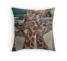 Go Veg Throw Pillow