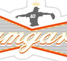 Bumgarner - The King Of Baseball Sticker