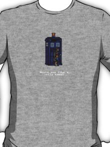 Time And Relative Pixels: Fourth Doctor T-Shirt