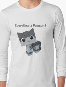 Brick Boris Kitty Long Sleeve T-Shirt