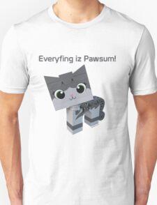 Brick Boris Kitty Unisex T-Shirt