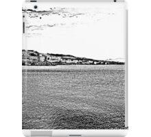 Island Caprera: sea landscape iPad Case/Skin