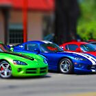 My Toy Vipers by pinkT
