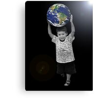 Take the World by Storm Canvas Print