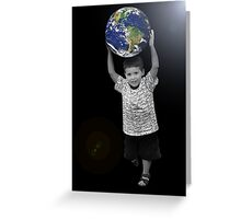 Take the World by Storm Greeting Card