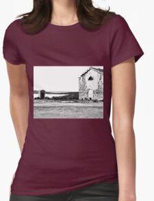 Island Caprera: military archeology Womens Fitted T-Shirt