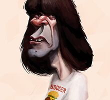 Johnny Ramone The Ramones by Luca Boni by LucaBoni