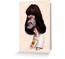 Johnny Ramone The Ramones by Luca Boni Greeting Card