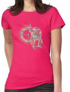 Chrono Robo Womens Fitted T-Shirt