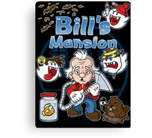 Bill's Mansion Canvas Print