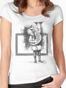 Elephant Music Women's Fitted Scoop T-Shirt