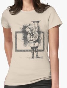 Elephant Music Womens Fitted T-Shirt
