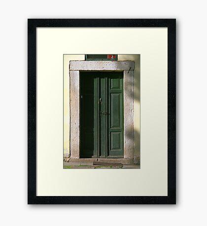 House Nr. 3 Framed Print