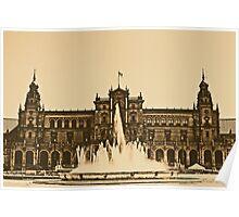 Plaza de Espana - Sevilla Poster