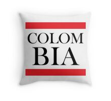 Colombia Design Throw Pillow