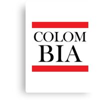 Colombia Design Canvas Print