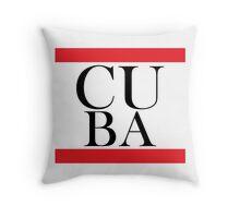 Cuba Design Throw Pillow