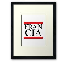 Francia Design Framed Print