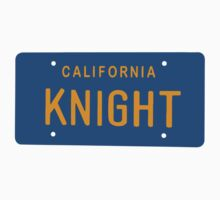 California Knight plate. Kids Clothes