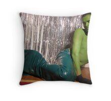 http://www.redbubble.com/green merman Throw Pillow