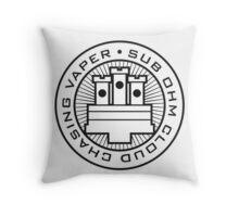 Sub Ohm Vaper 2 Throw Pillow