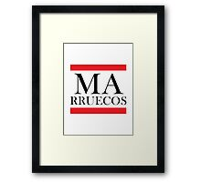 Marruecos Design Framed Print