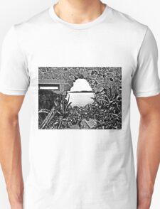 Island Caprera: break in the wall and acacia T-Shirt