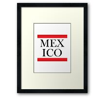 Mexico Design Framed Print