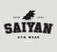 Saiyan Gym Wear by Baznet