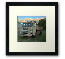 Albion Truck Framed Print