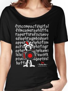 Red - The New Guy - funcompactdigitalcamera .. Women's Relaxed Fit T-Shirt