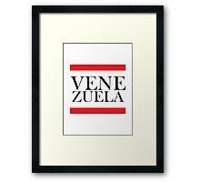 Venezuela Design Framed Print