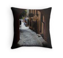 Diagon-alley Throw Pillow
