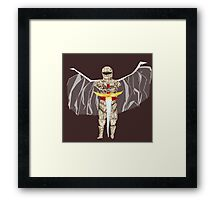 The Winged knight Framed Print